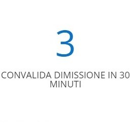 STEP 3 CONVALIDA IN 30 MINUTI